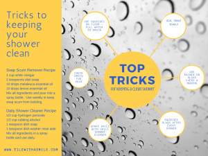 Keeping Your Shower Clean – Top Tricks