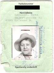 Mormor Erna ca 60 år