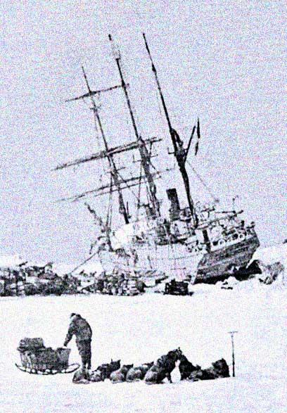 Stella Polare i isen 1899