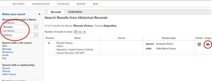 FS søke i land 7 - argentina
