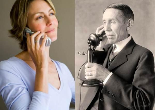 Telefoner en slektning