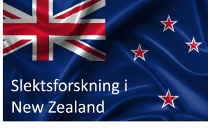 New Zealand flagg