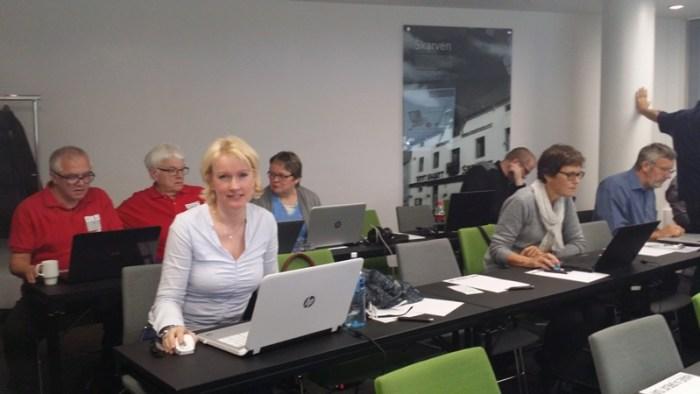 Her er jeg på DIS Slekt og Datas WEB-seminar