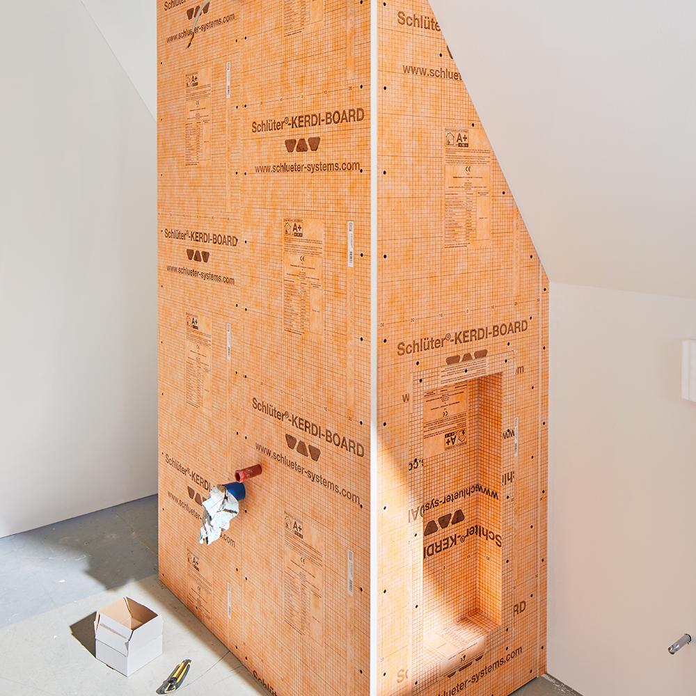 schluter kerdi board tile backer board