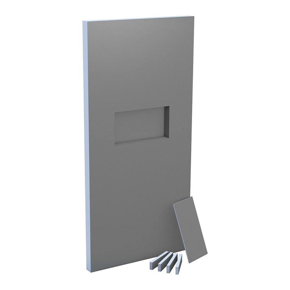 wedi sanwell wall board with integrated niche