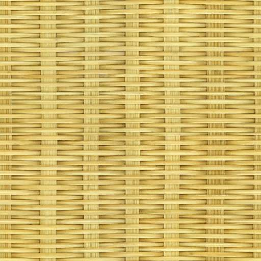 Bamboo woven basket free seamless texture