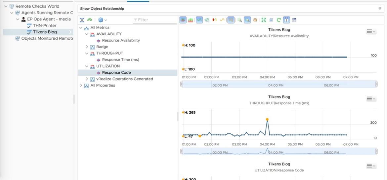 Remote Monitor Metrics