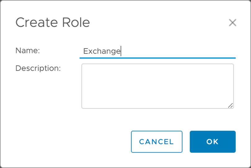 Exchange Role