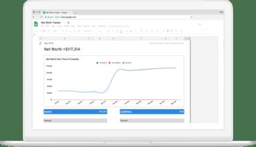 Net Worth Tracker Google Spreadsheet Template