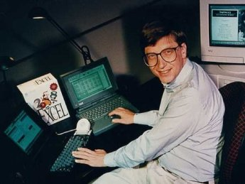 Bill Gates Excel