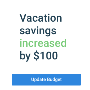 Stay on top of savings goals