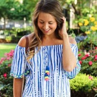 Off the Shoulder Lilly Top in Chicago
