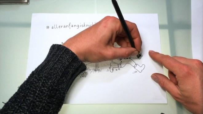 So zeichne ich: