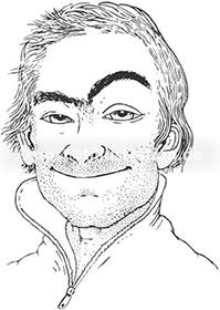Portraitzeichnung von Torsten Brettschneider