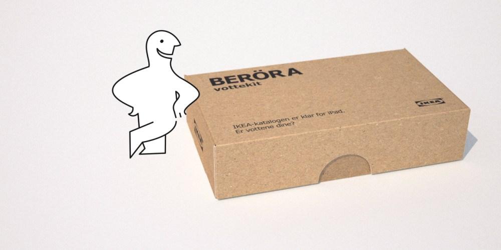 IKEA Beröra vottekit