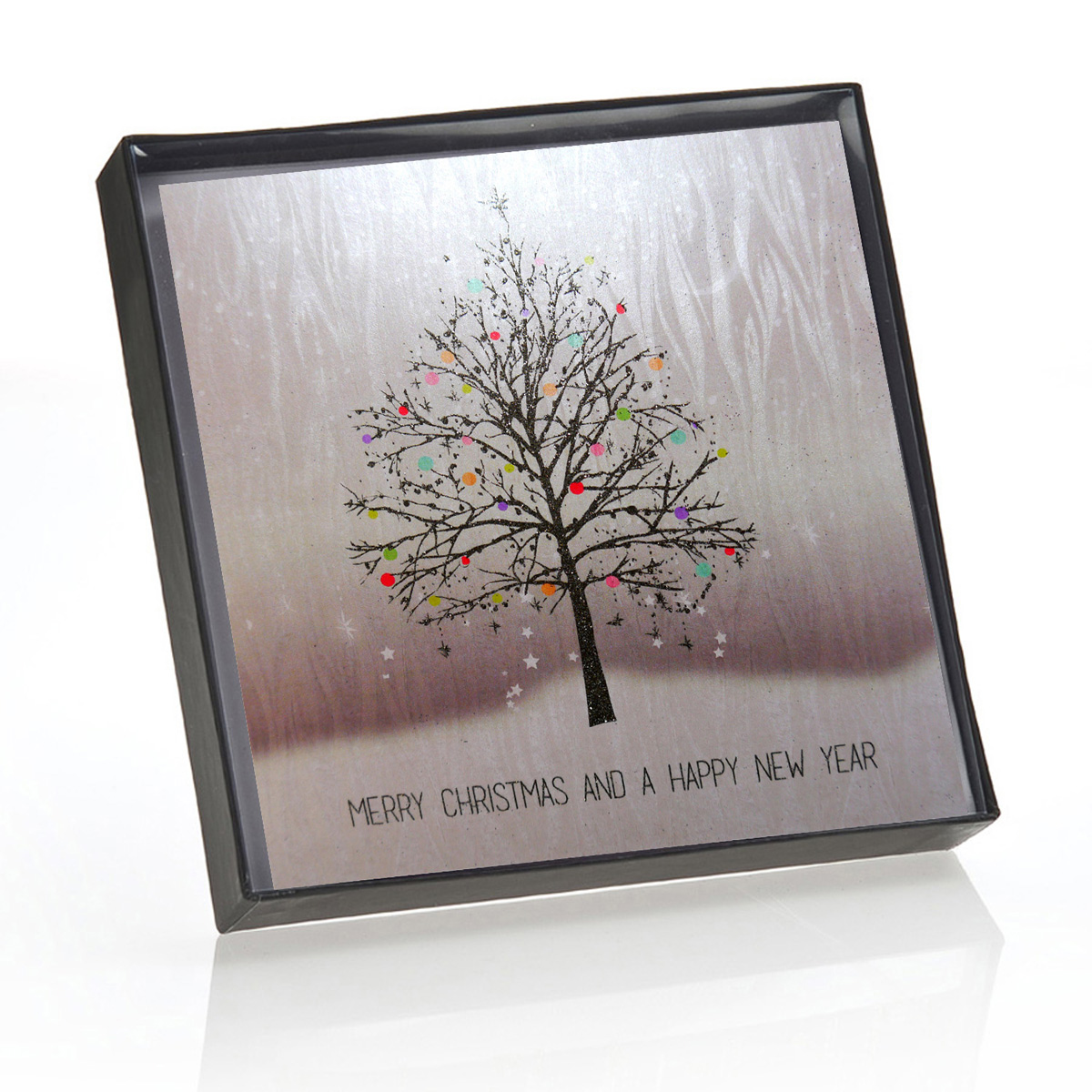 Merry Christmas Happy New Year Boxed Christmas Cards