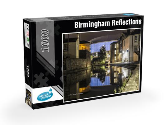 Birmingham Reflections 1,000pc Jigsaw Puzzle.