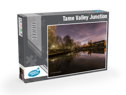 Tame Valley Junction 1,000pc Jigsaw puzzle.