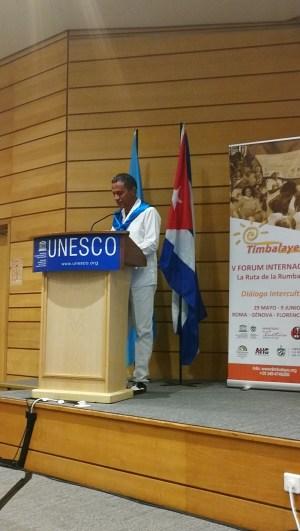 Timbalaye en la UNESCO Discurso Presidente