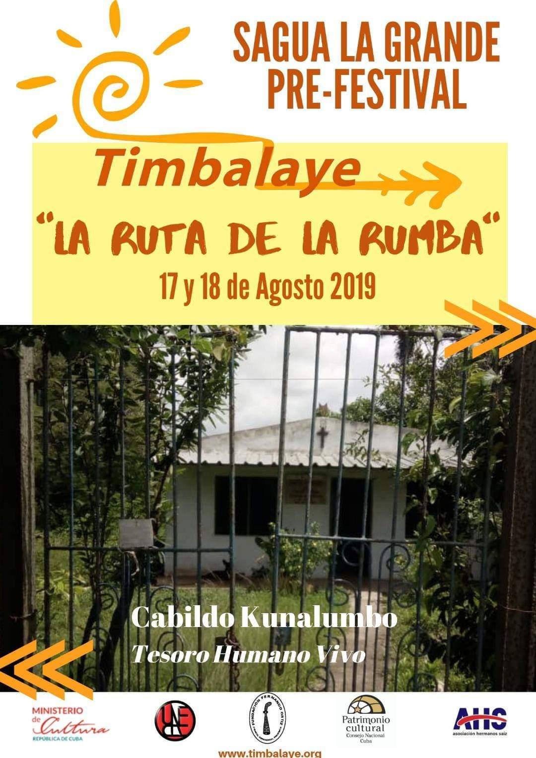 Prefestival Timbalaye La Ruta de la Rumba en Sagua la Grande