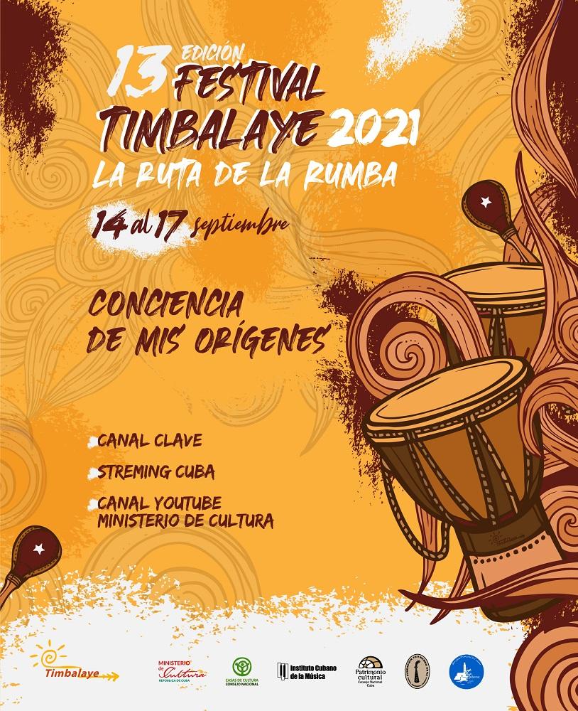 Festival Internacional de la Rumba Online «Timbalaye 2021»