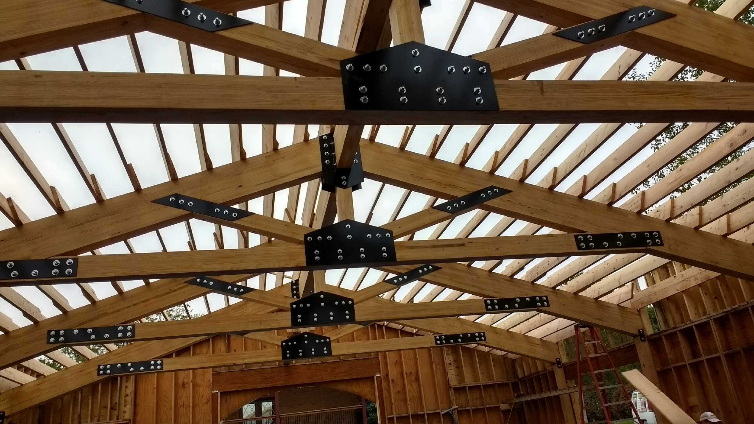Titan Trusses Wood Building Trusses Timber Tech