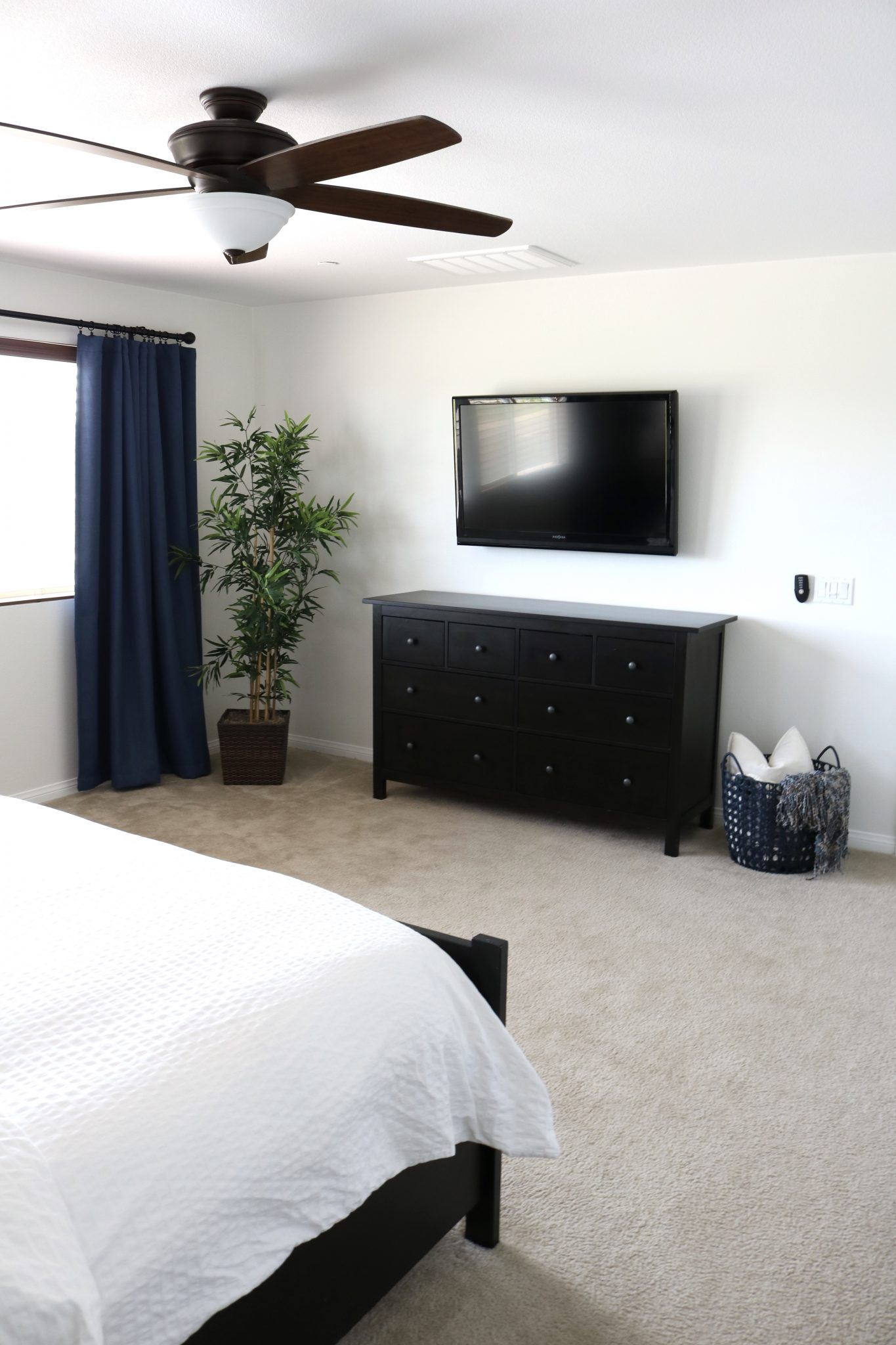 master bedroom makeover part 3 the reveal timber crow overall i m so happy with how the space turned out and happy that it s done it feels so fresh and bright now and the shiplap wall creates a great focal