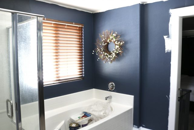 Choosing the perfect moody blue paint color!