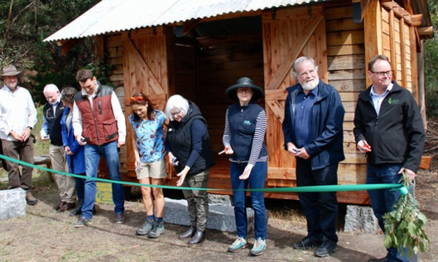 SLAB HUT LAUNCH TO BOOST FOREST COMMUNITIES