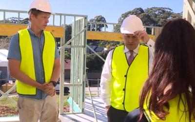 AUSTRALIAN FEDERAL BUDGET BOOSTS CONSTRUCTION INDUSTRY