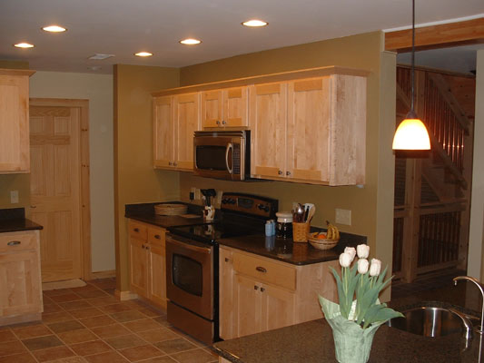 Timber Country Cabinetry Flat Panel Door Style
