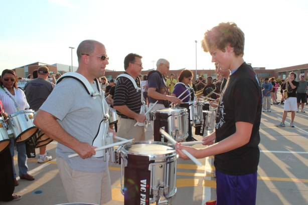 Band Parent Practice