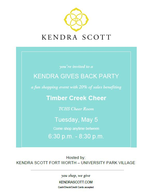 kendra scott cheer
