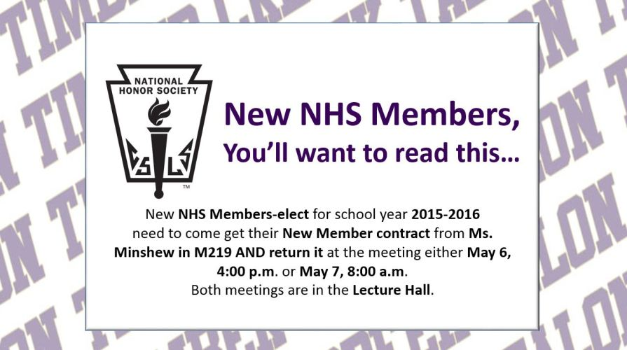 new nhs members