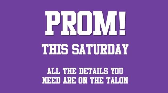 prom this saturday