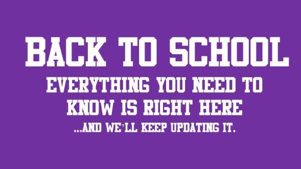 back to school promo