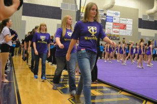 Photos from Oct. 29, 2015 Senior Pep Rally. (Photos by The Creek Yearbook photographer Phil Oliveira.)
