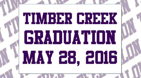 timber creek graduation
