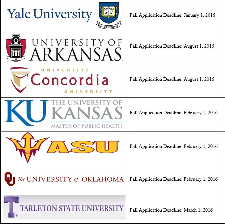 college schedule 2