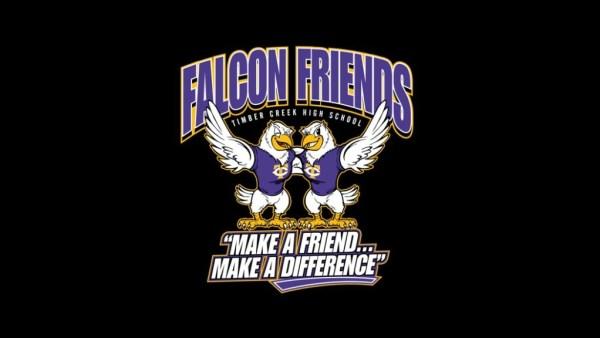 falcon friends logo black