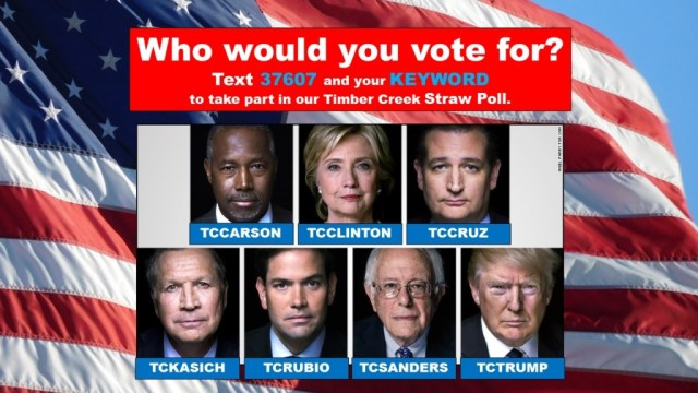 TC STRAW POLL SUPER TUESDAY