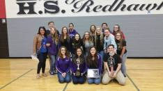 Timber Creek High School's Winterguard won multiple awards at a Feb. 27 contest.