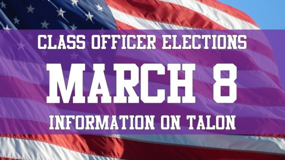 class officer elections march 8