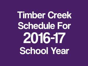 tchs schedule 2016-17 promo