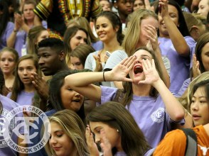 The Creek Yearbook photographers captured Purple Out game day highlights on Sept. 8, 2016. (Photo by Yearbook photographer Kelsey Crawford.)