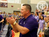 The Creek Yearbook photographers captured Purple Out game day highlights on Sept. 8, 2016. (Photo by Lindsey Garner.)