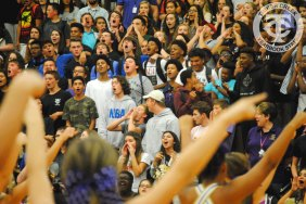 Photos from the Sept. 15, 2016 Homecoming Pep Rally. (Photo by The Creek Yearbook photographer Mason Chavez.)