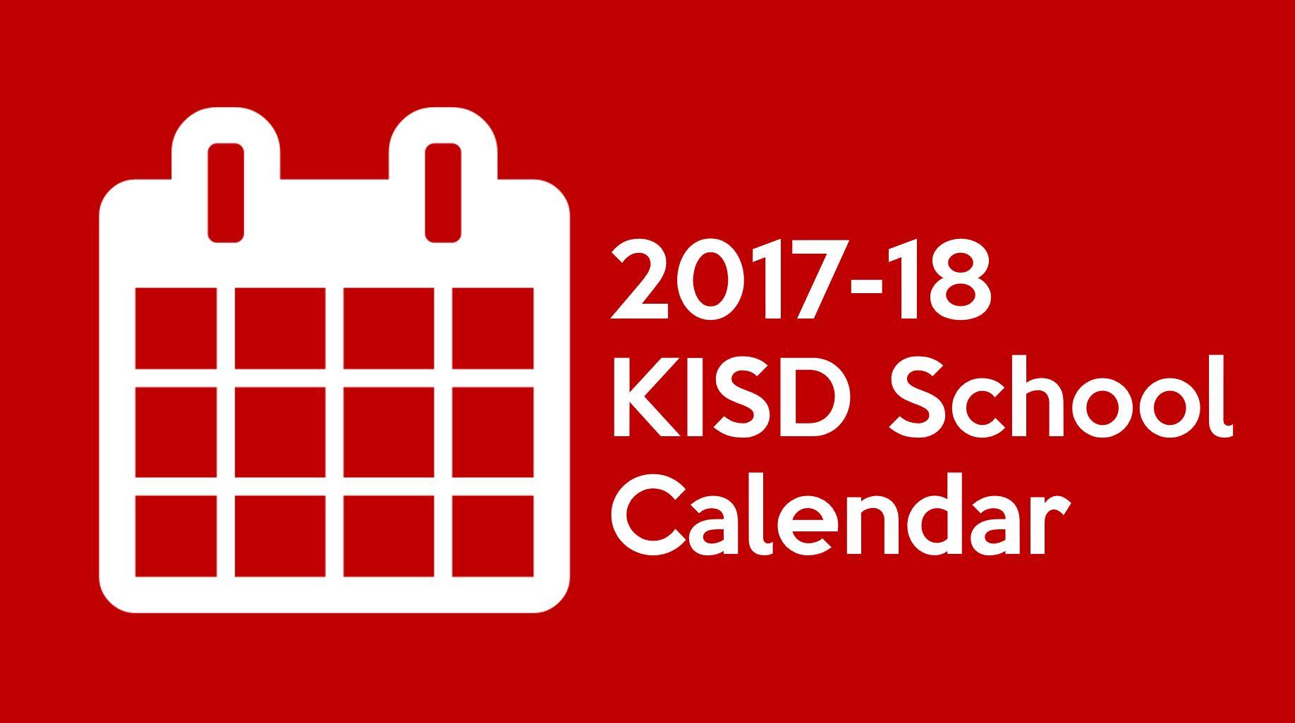 This Is The 2017 18 Keller Isd Calendar Timber Creek Talon