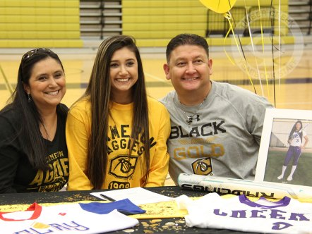 Images from the April 12, 2017 signing day ceremony. (Photos by The Creek Yearbook photographer Claire Gustafson.)