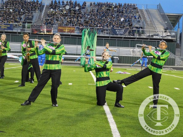 Photos from the 2017 Keller ISD Marching Band Expo. (Photo by The Creek Yearbook photographer Tia Baynard.)